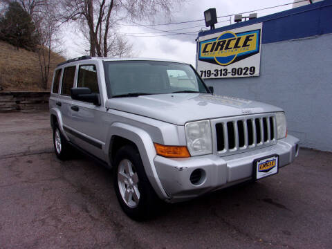 2006 Jeep Commander for sale at Circle Auto Center in Colorado Springs CO