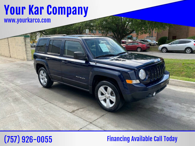 2017 Jeep Patriot for sale at Your Kar Company in Norfolk VA