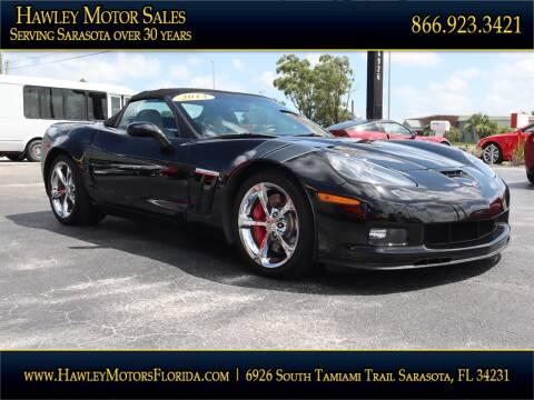 2013 Chevrolet Corvette for sale at Hawley Motor Sales in Sarasota FL