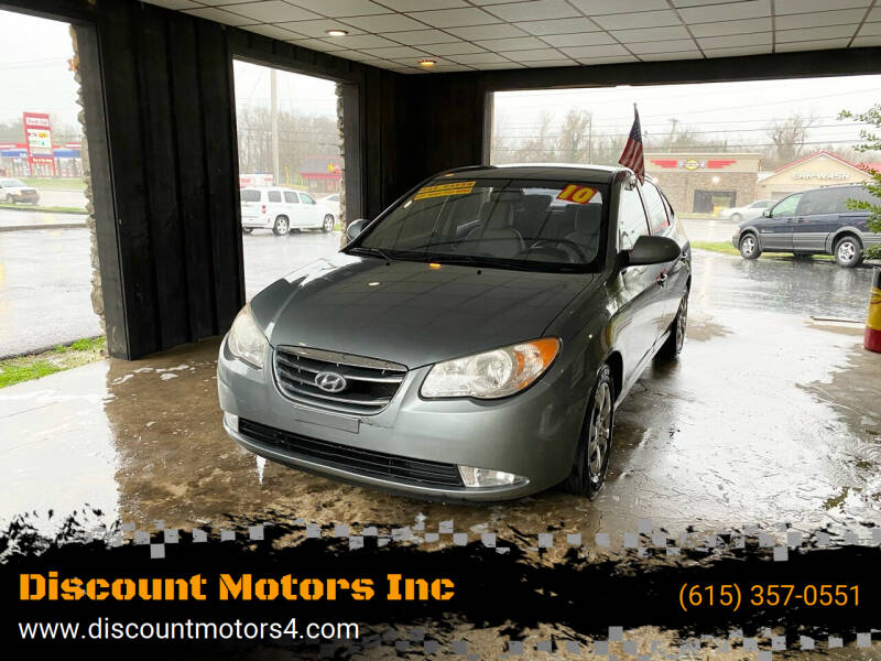 2010 Hyundai Elantra for sale at Discount Motors Inc in Old Hickory TN