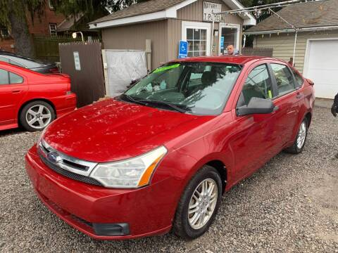 2010 Ford Focus for sale at Trocci's Auto Sales in West Pittsburg PA