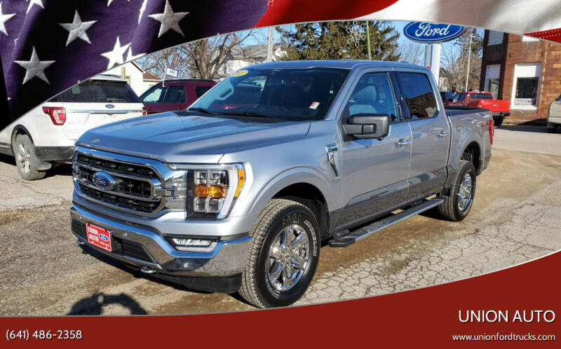 2021 Ford F-150 for sale at Union Auto in Union IA