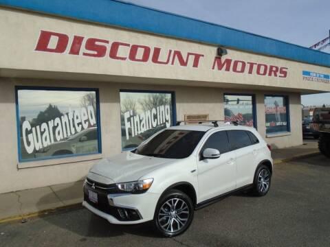 2019 Mitsubishi Outlander Sport for sale at Discount Motors in Pueblo CO