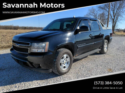 2008 Chevrolet Avalanche for sale at Savannah Motors in Elsberry MO