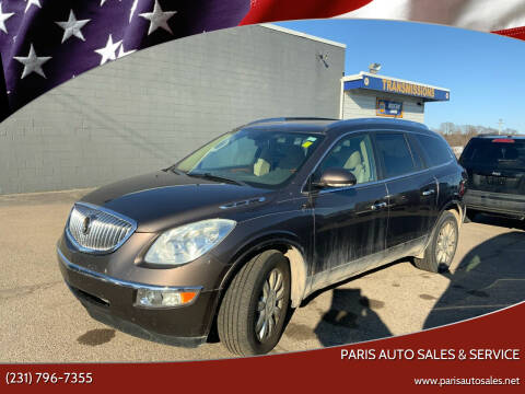 2011 Buick Enclave for sale at Paris Auto Sales & Service in Big Rapids MI