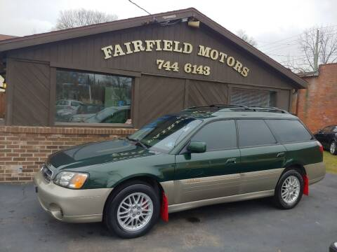 2001 Subaru Outback for sale at Fairfield Motors in Fort Wayne IN