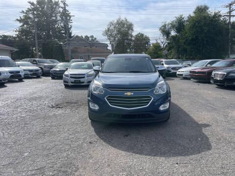 2016 Chevrolet Equinox for sale at All Starz Auto Center Inc in Redford MI