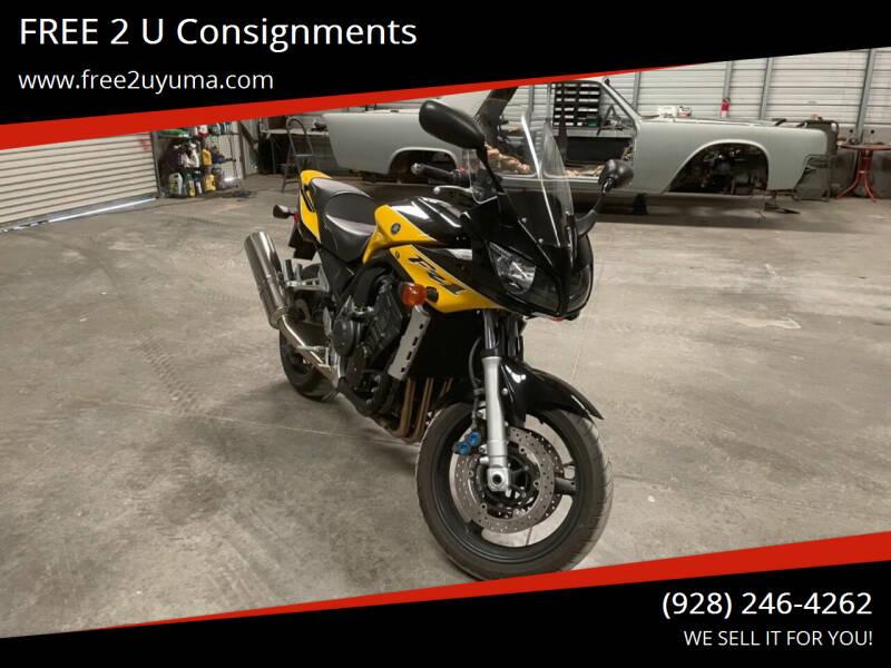 2003 Yamaha FZ1 for sale at FREE 2 U Consignments in Yuma AZ