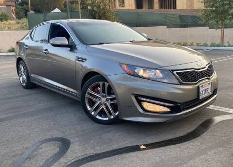 2013 Kia Optima for sale at J & K Auto Sales in Agoura Hills CA