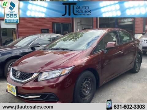2013 Honda Civic for sale at JTL Auto Inc in Selden NY