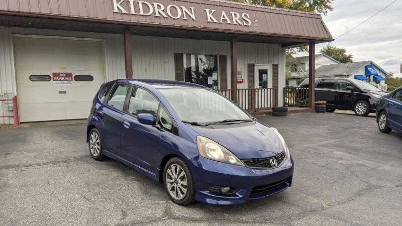 2012 Honda Fit for sale at Kidron Kars INC in Orrville OH