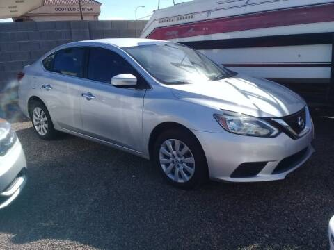 2017 Nissan Sentra for sale at 1ST AUTO & MARINE in Apache Junction AZ