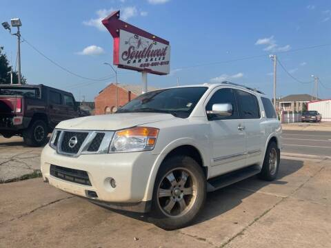 2013 Nissan Armada for sale at Southwest Car Sales in Oklahoma City OK