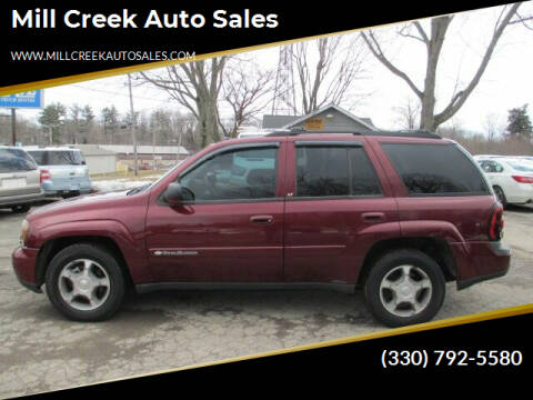 2004 Chevrolet TrailBlazer for sale at Mill Creek Auto Sales in Youngstown OH