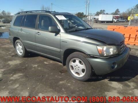 2004 Toyota Highlander for sale at East Coast Auto Source Inc. in Bedford VA