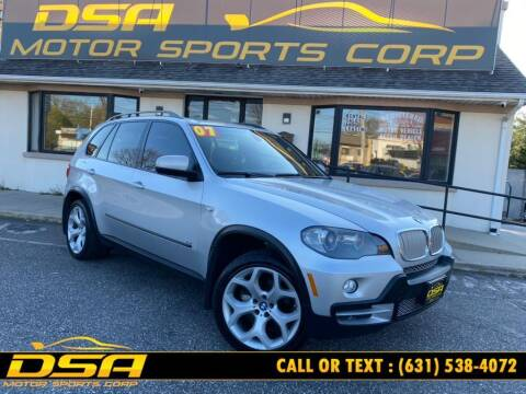 2007 BMW X5 for sale at DSA Motor Sports Corp in Commack NY