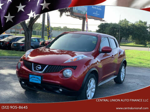 2013 Nissan JUKE for sale at Central Union Auto Finance LLC in Austin TX