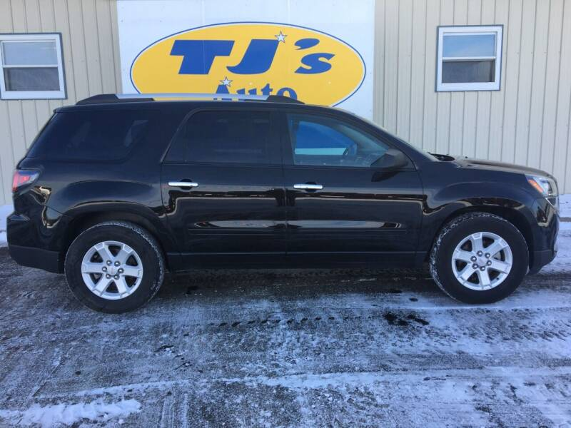 2016 GMC Acadia for sale at TJ's Auto in Wisconsin Rapids WI