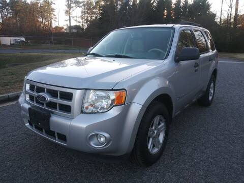 2010 Ford Escape Hybrid for sale at Final Auto in Alpharetta GA