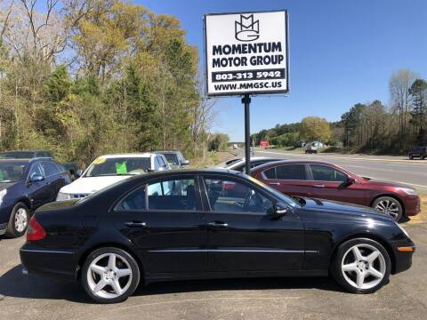 2009 Mercedes-Benz E-Class for sale at Momentum Motor Group in Lancaster SC