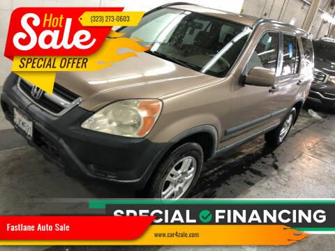 2004 Honda CR-V for sale at Fastlane Auto Sale in Los Angeles CA