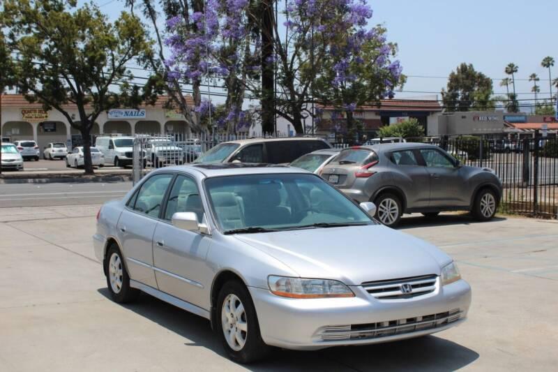 2002 Honda Accord for sale at Car 1234 inc in El Cajon CA