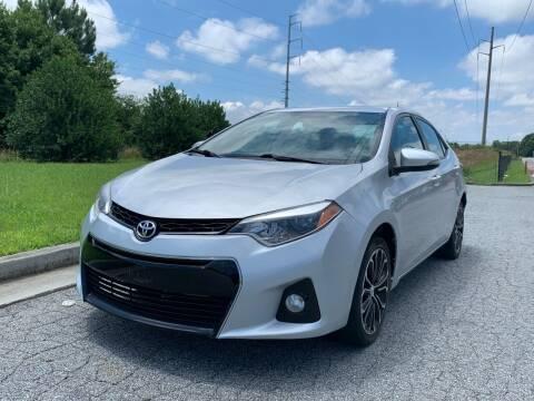 2014 Toyota Corolla for sale at William D Auto Sales in Norcross GA