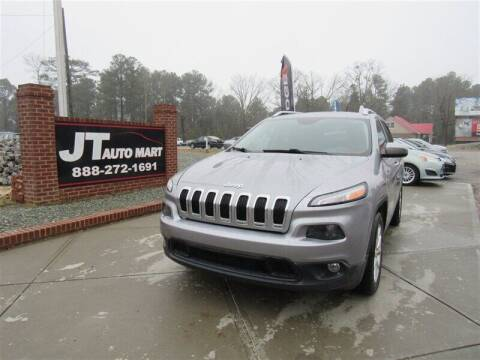 2015 Jeep Cherokee for sale at J T Auto Group in Sanford NC