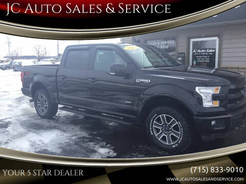 2015 Ford F-150 for sale at JC Auto Sales & Service in Eau Claire WI