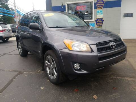 2010 Toyota RAV4 for sale at Bizzarro`s Fleetwing Auto Sales in Erie PA