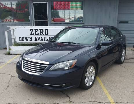 2013 Chrysler 200 for sale at Wicked Motorsports in Muskegon MI