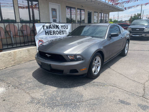 2010 Ford Mustang for sale at Robert B Gibson Auto Sales INC in Albuquerque NM