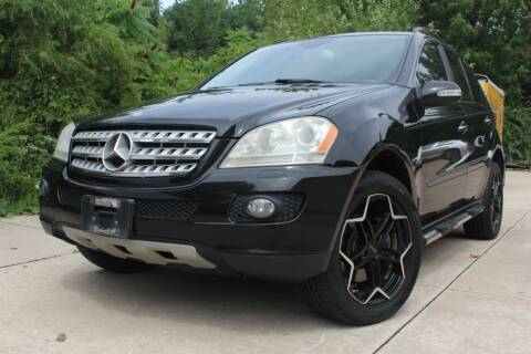 2007 Mercedes-Benz M-Class for sale at CHIPPERS LUXURY AUTO, INC in Shorewood IL