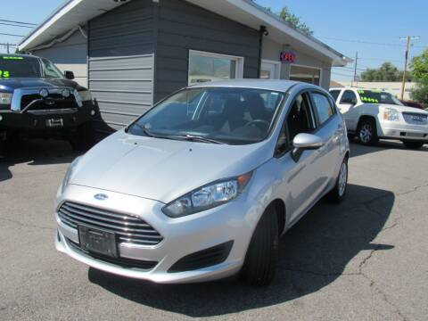 2015 Ford Fiesta for sale at Crown Auto in South Salt Lake UT