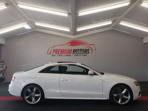 2009 Audi A5 for sale at Premium Motors in Villa Park IL