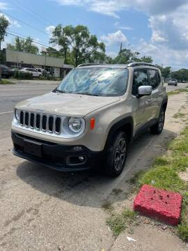 2016 Jeep Renegade for sale at Simon's Auto Sales in Detroit MI