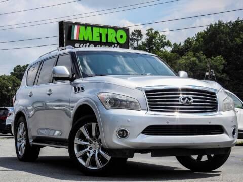 2014 Infiniti QX80 for sale at Used Imports Auto - Metro Auto Credit in Smyrna GA