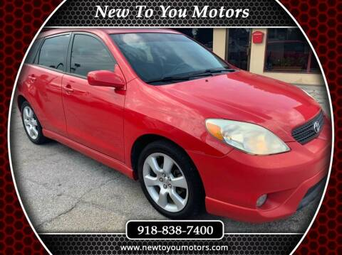 2005 Toyota Matrix for sale at New To You Motors in Tulsa OK