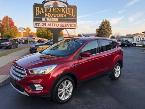 2017 Ford Escape for sale at BATTENKILL MOTORS in Greenwich NY