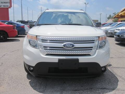 2012 Ford Explorer for sale at T & D Motor Company in Bethany OK