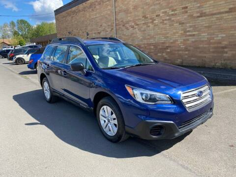 2017 Subaru Outback for sale at KARMA AUTO SALES in Federal Way WA