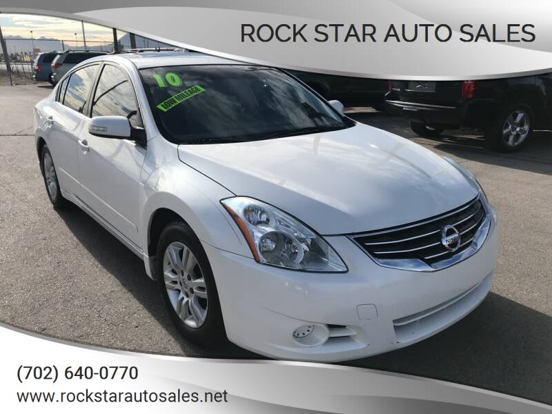2010 Nissan Altima for sale at Rock Star Auto Sales in Las Vegas NV