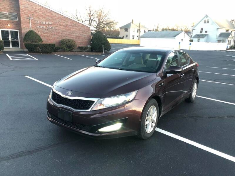 2012 Kia Optima for sale at Best Buy Automotive in Attleboro MA