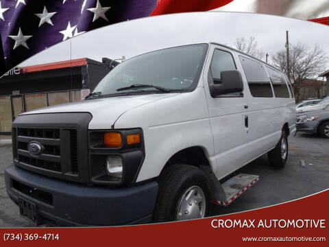 2012 Ford E-Series Cargo for sale at Cromax Automotive in Ann Arbor MI