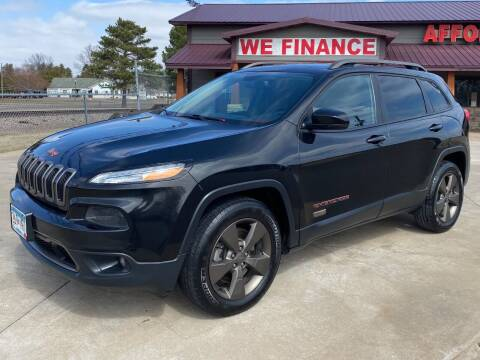 2016 Jeep Cherokee for sale at Affordable Auto Sales in Cambridge MN