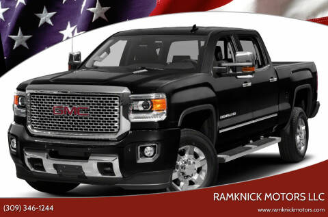 2017 GMC Sierra 3500HD for sale at RamKnick Motors LLC in Pekin IL