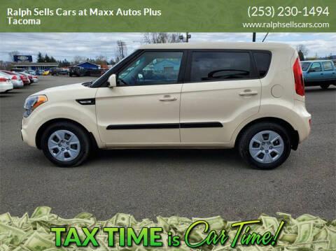 2013 Kia Soul for sale at Ralph Sells Cars at Maxx Autos Plus Tacoma in Tacoma WA