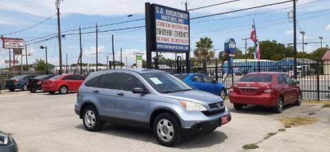 2007 Honda CR-V for sale at S.A. BROADWAY MOTORS INC in San Antonio TX