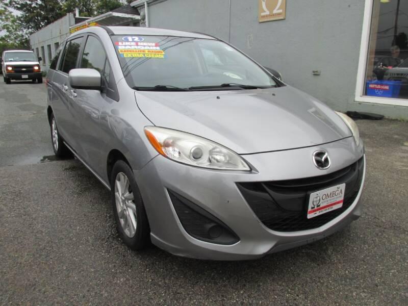 2012 Mazda MAZDA5 for sale at Omega Auto & Truck Center, Inc. in Salem MA