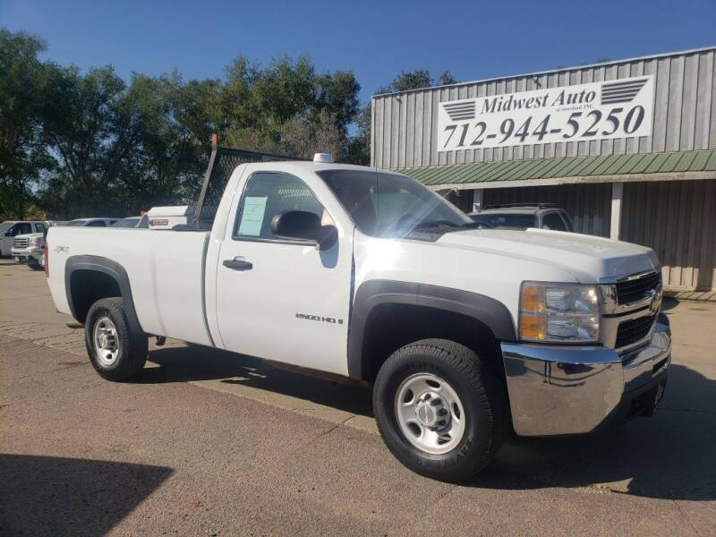 2009 Chevrolet Silverado 2500HD for sale at Midwest Auto of Siouxland, INC in Lawton IA